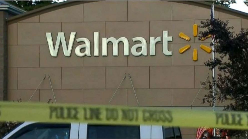 A carjacking suspected was shot and killed at a Walmart in Tumwater, Washington, on Sunday.