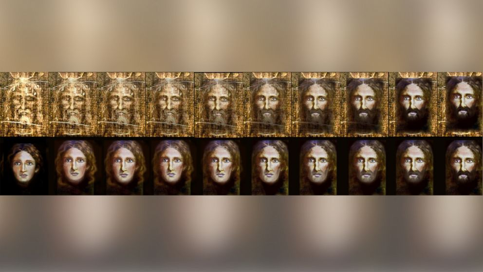 Police Create Image of Jesus as a Child Using Shroud of