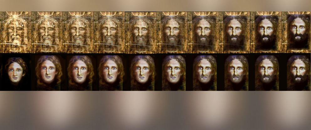 PHOTO: Italy National Police used the Turin shroud and a reverse imaging process to create a photo of what Jesus may have looked like as a young boy.