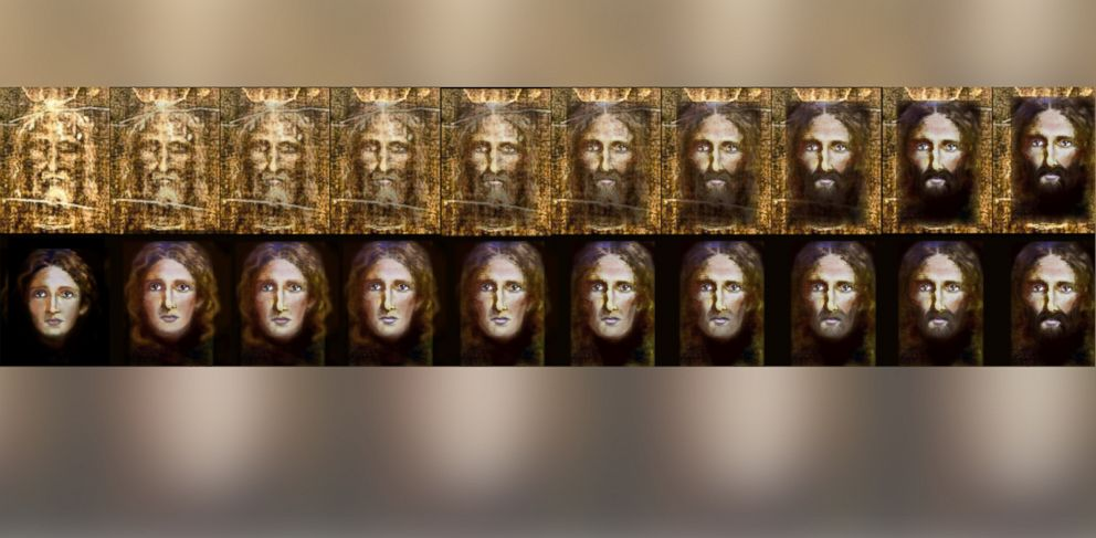 Police Create Image Of Jesus As A Child Using Shroud Of Turin Computer Forensics Abc News