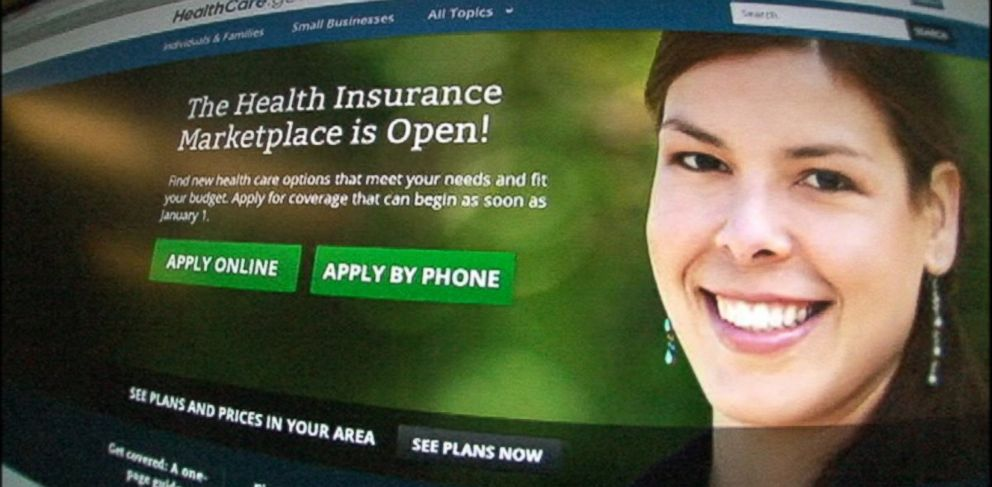 "PHOTO: The Affordable Care Act website, of which a prior version is shown, has been subject to ""a handful"" of hacking attempts."