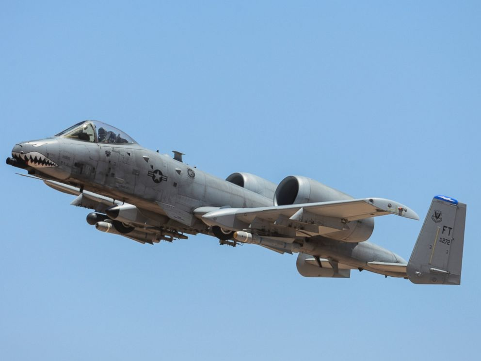 PHOTO: An A-10C Thunderbolt II assigned to the 23rd Fighter Group, Moody AFB, Ga., performs a flying maneuver during the 2016 Hawgsmoke competition at Barry M. Goldwater Range, Arizona, June 2, 2016.