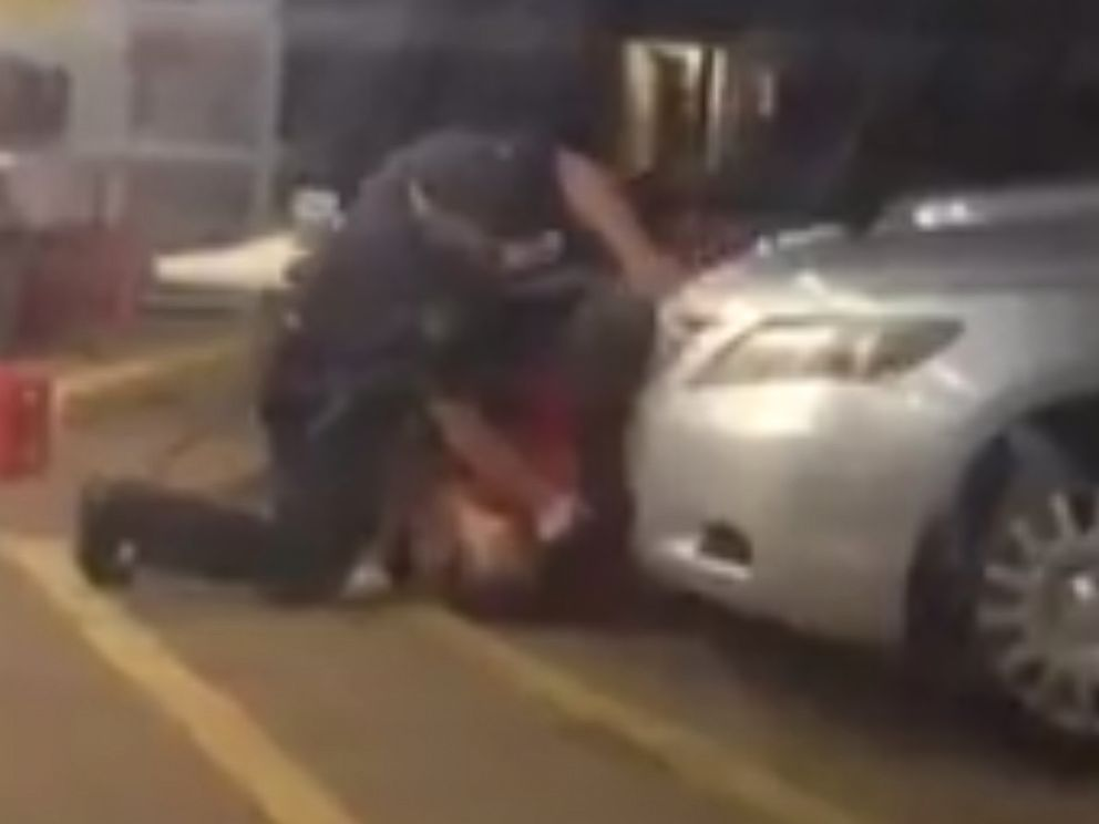PHOTO: Cellphone video captured an altercation between Alton Sterling, 37, and Baton Rouge police that resulted in the shooting death of Sterling on July 5, 2016.