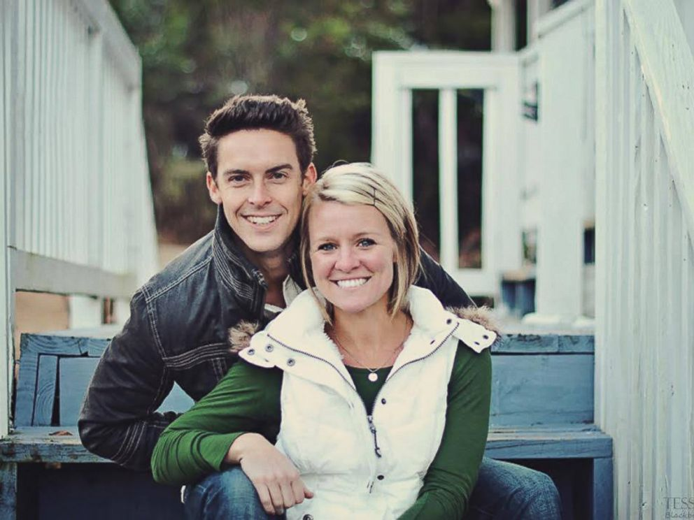 PHOTO: Amanda Blackburn and her husband are pictured in this undated file photo.
