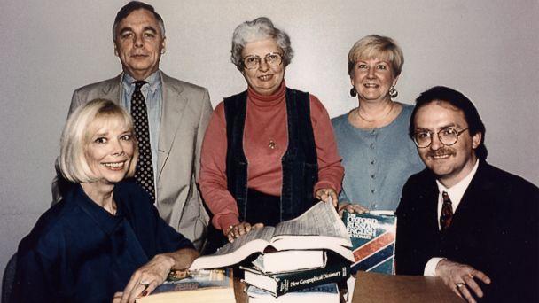 PHOTO: Left to right, Sandy Grimes, Paul Redmond, Jeanne Vertefeuille, Diana Worthen and Dan Payne
