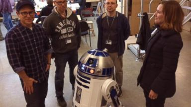 """PHOTO: J.J. Abrams posted this photo to Twitter on Nov. 14, 2013 with the caption, """"Hi from the workshop!"""""""