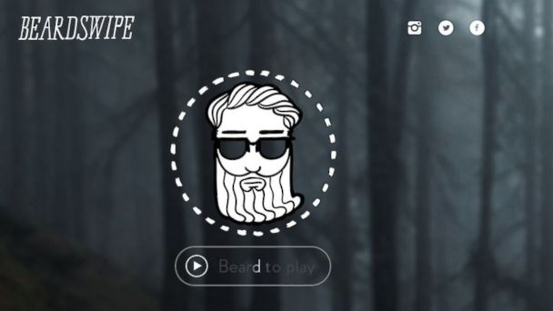 PHOTO: BeardSwipe, the latest in mobile accessibility.