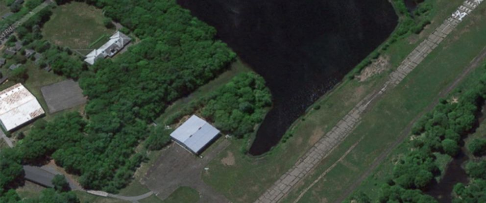 PHOTO: This Satellite image shows the Birchwood-Pocono Airpark in Pa.