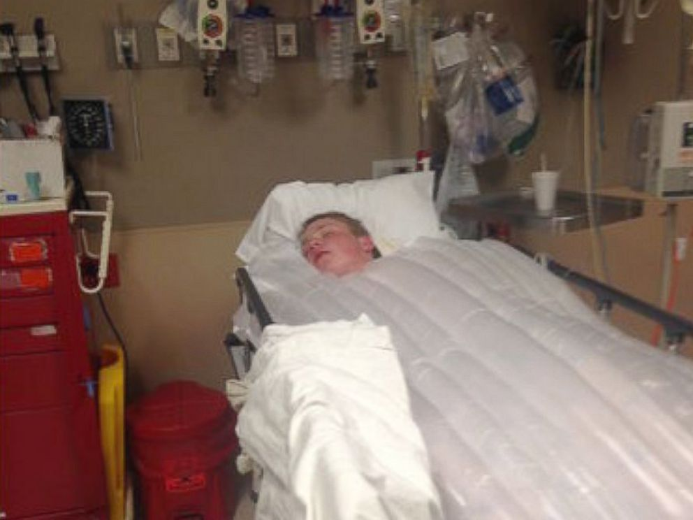 PHOTO: Brayden Neilson, 14, was found with signs of hypothermia after spending the night in the wetlands of Weber County.