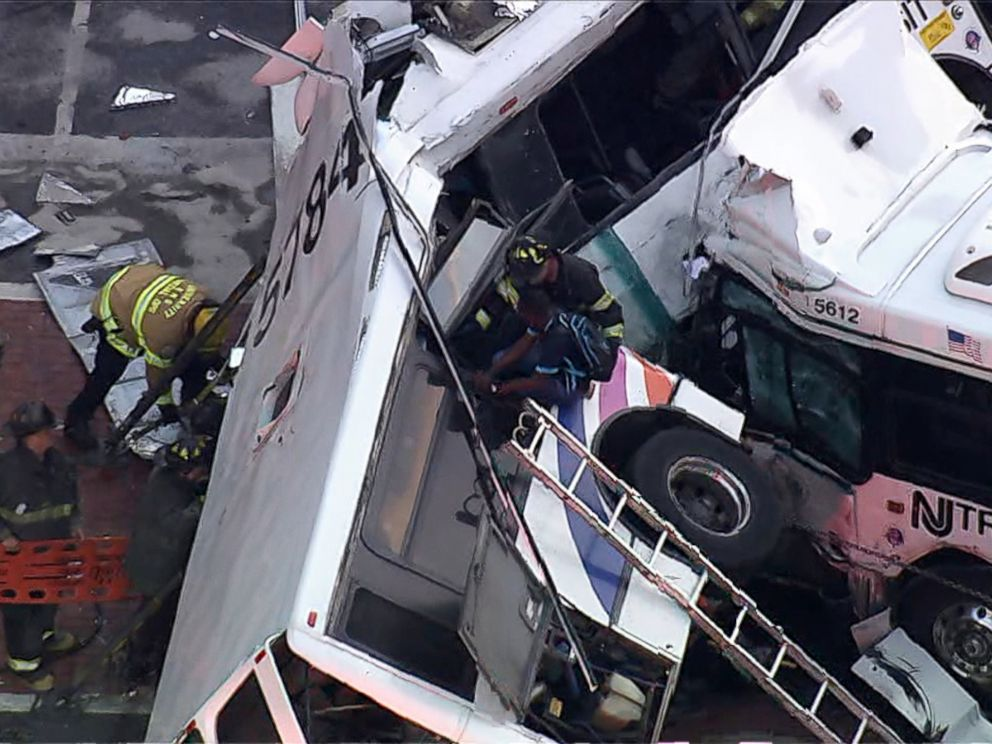 New Jersey Bus Crash Leaves 1 Dead, 18 Injured - ABC News
