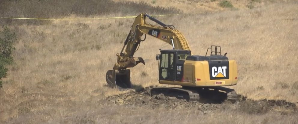 PHOTO: The San Luis Obispo County Sheriffs Department and the FBI began excavating part of a hillside in a potential break in the Kristin Smart case.