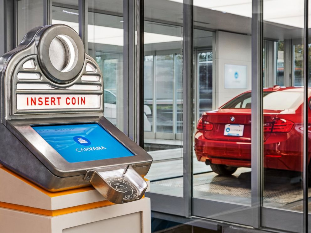 PHOTO: Carvana's new Car Vending Machine.