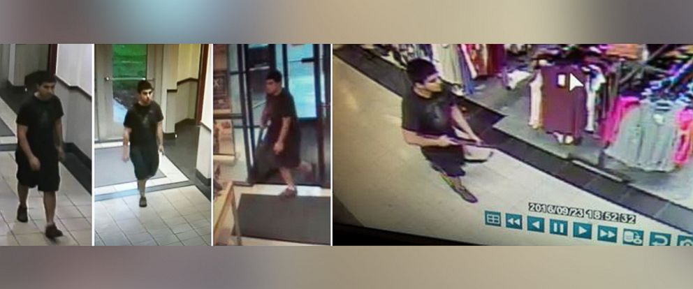 PHOTO: Skagit County DEM released these photos on Sept. 24, 2016, of a suspect wanted in a shooting at the Cascade Mall in Burlington, Washington, on Friday.