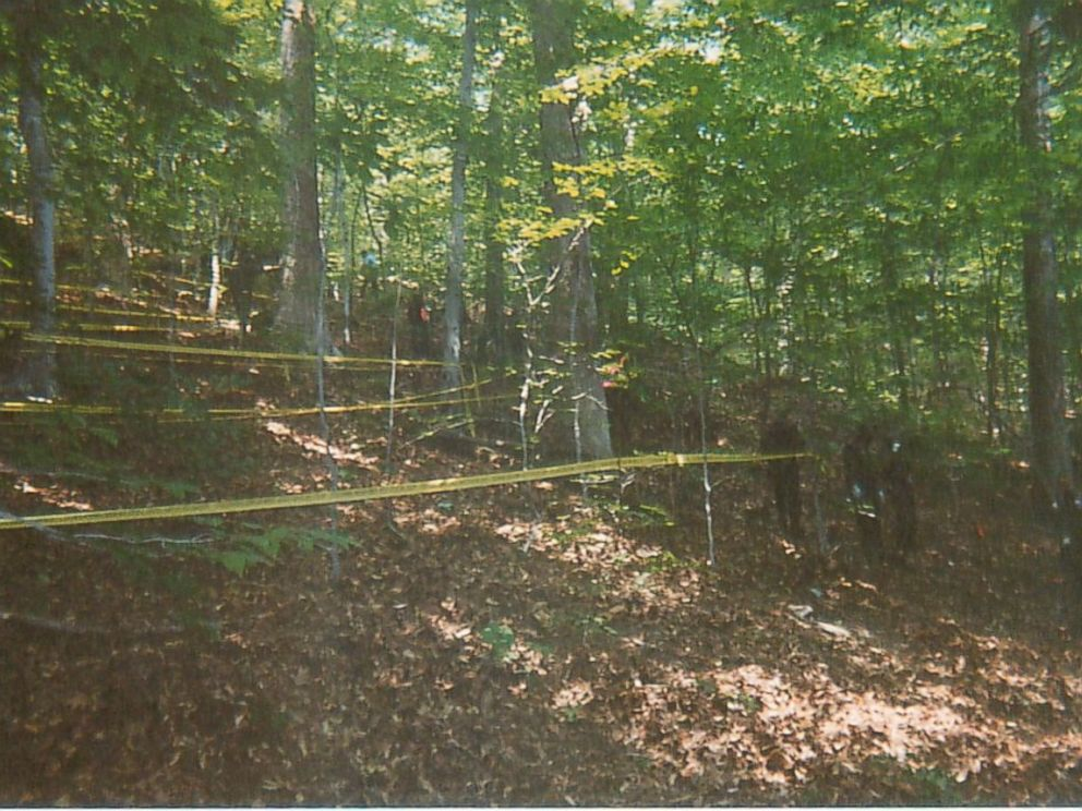 PHOTO: A photo from the crime scene shown at the Chandra Levy trial. <p itemprop=