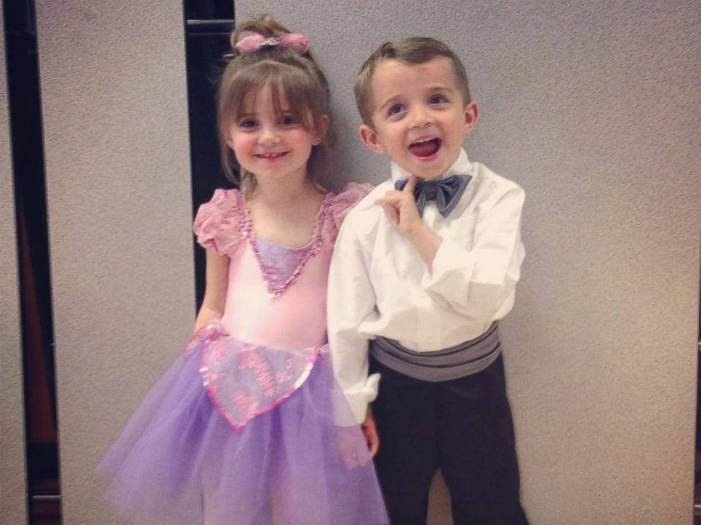 PHOTO: The two kids have recovered from the February 17 procedure.