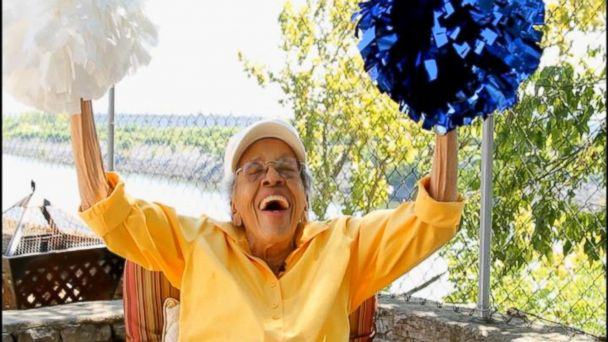 101-Year-Old Former Cheerleader Honored at TSU Homecoming