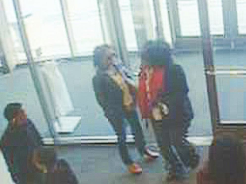 PHOTO: Cherry Hill Police have released this surveillance image in an attempt to identify two persons-of-interest in Tonya Knight-Josephs attack. Those with information should call (856)-488-7828.