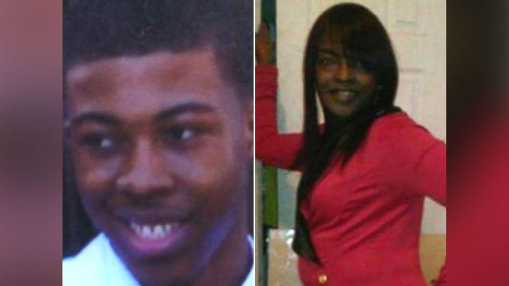 Quintonio LeGrier, left, and Bettie Jones were victims of a shooting in Chicago, Dec. 26, 2015.