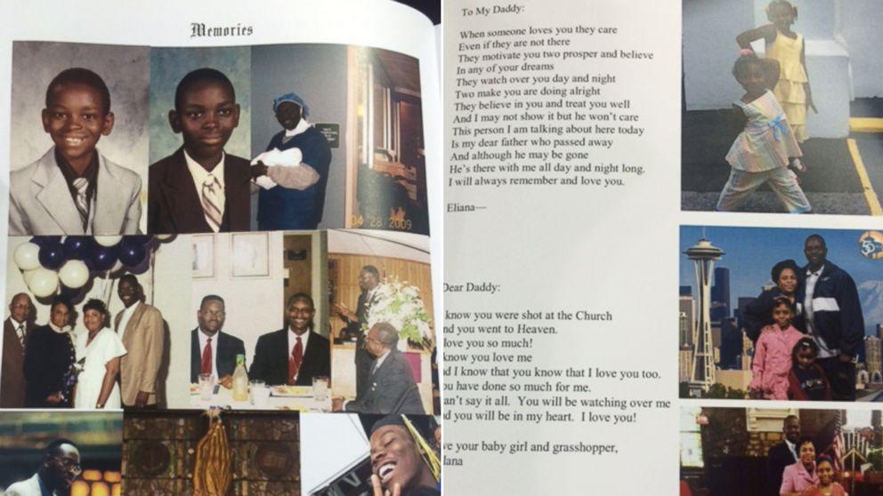 The program from Clementa C. Pinckney's funeral, June 26, 2015.