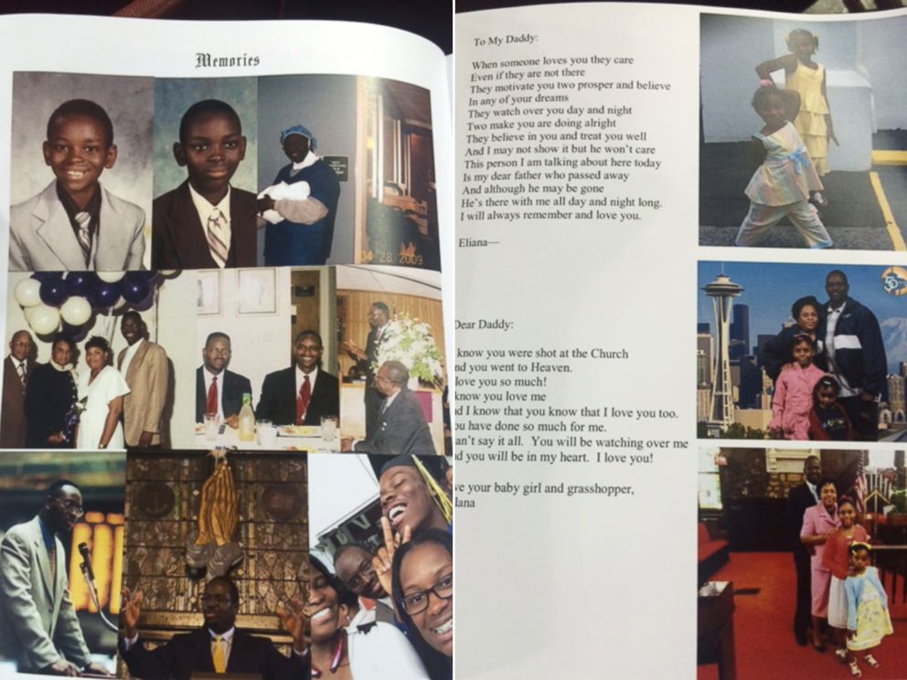 PHOTO: The program from Clementa C. Pinckneys funeral, June 26, 2015.