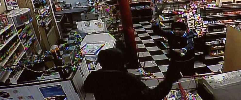 PHOTO:Jose Tirado-Sanchez -- a 36-year-old robber who attacked a clerk at Jareks Market in Fall River, Mass. -- was surprised when the clerk pulled out a knife on him during the robbery, Jan. 10, 2016.