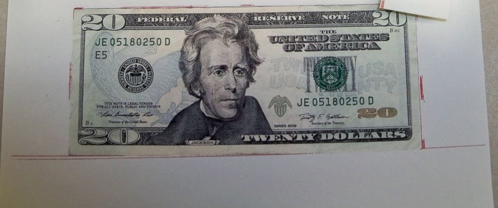 PHOTO: Counterfeit money confiscated by the New Milford Police Department.