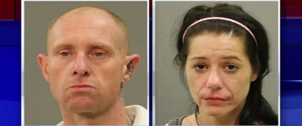 PHOTO: Sarah Shibley, 33, and Gary Collins, 39, of Texas are charged with endangering a child.