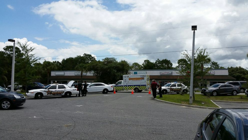 Police released a photo of the crime scene where an attempted abduction occurred June, 7th, 2016 inside a general dollar store in Hernando, Florida.