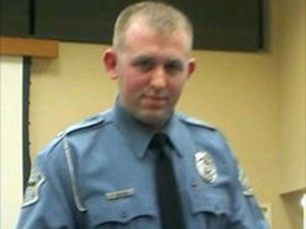 PHOTO: Ferguson police Officer Darren Wilson, shown in this screen shot via Facebook, earned police honor before fatal shooting.