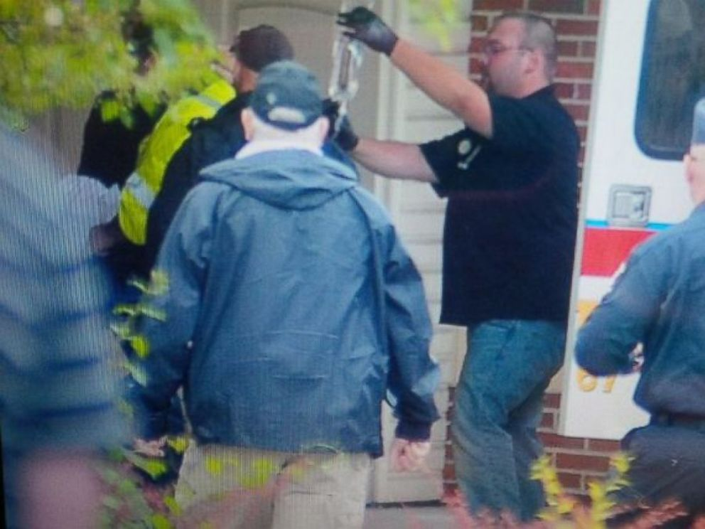 PHOTO: Escaped prisoner David Sweat was taken to a hospital after he was shot and captured June 28, 2015, in upstate New York.