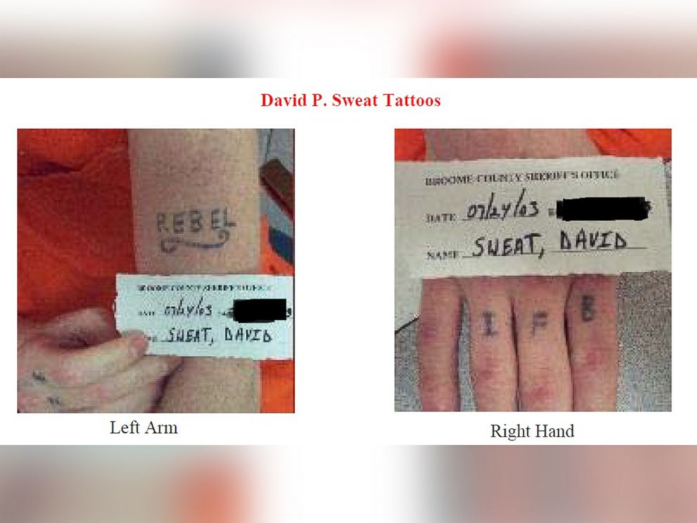 PHOTO: Undated photos released by the New York State Police show David Sweat, who escaped from the Clinton Correctional Facility in Dannemora.