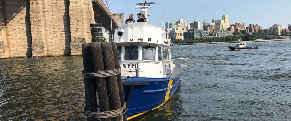 PHOTO: A baby boy was pronounced dead on Sunday after tourists found him floating in New Yorks East River.