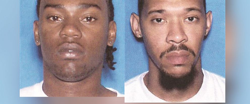 PHOTO: From left, Demarcus Woodward, 23, and Gemayel Culbert, 23, escaped from Choctaw County Jail in Alabama, Dec. 13, 2014.