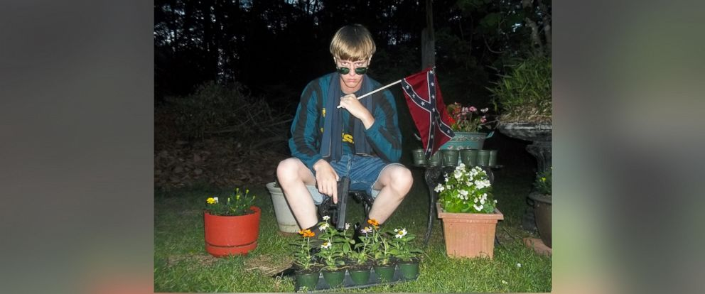 PHOTO: Dylann Roof is shown in this photo posted to website: lastrhodesian.com.