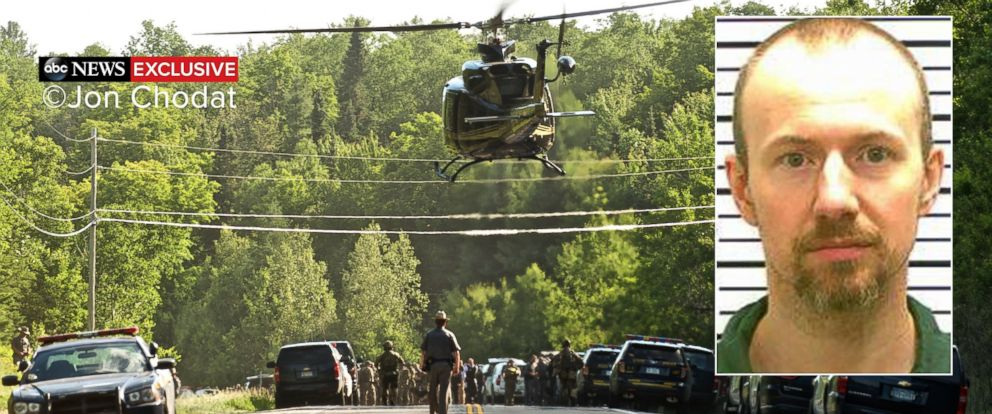 PHOTO: Authorities in upstate New York spent three weeks searching for escaped prisoners Richard Matt and David Sweat.