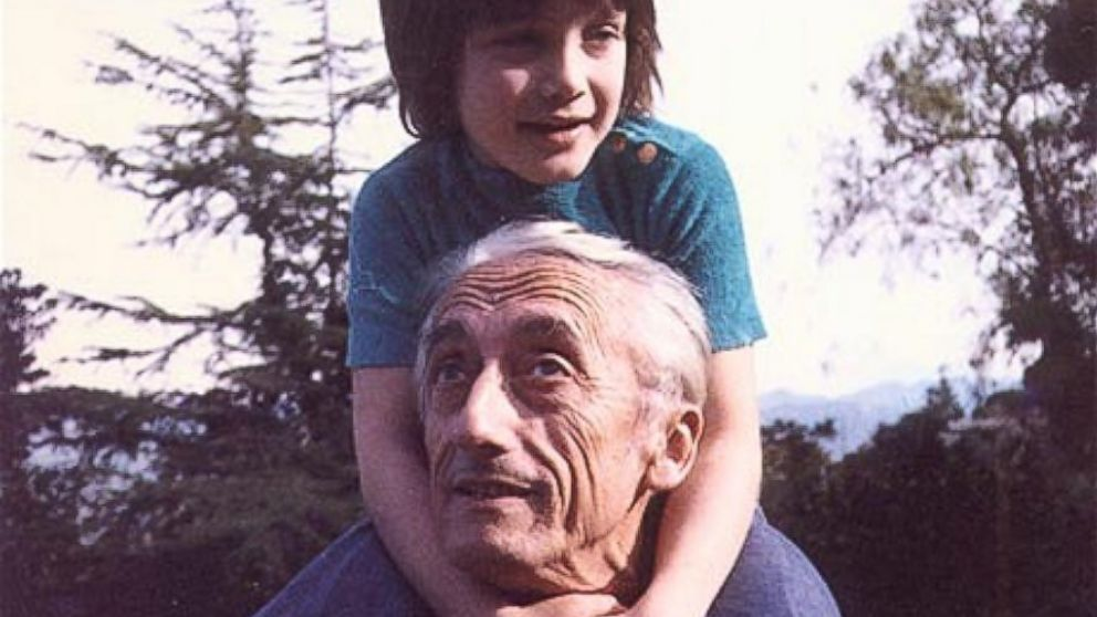 Cousteau is the grandson of famed oceanographer Jacques Cousteau.