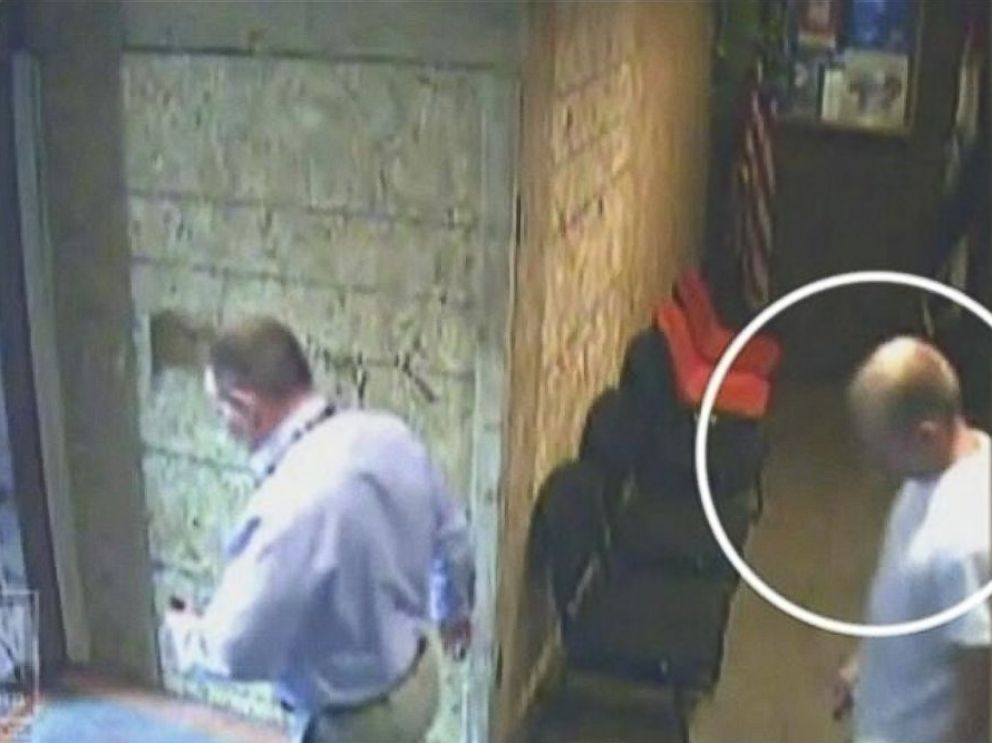 PHOTO: Police officer Darren Wilson is pictured in surveillance footage