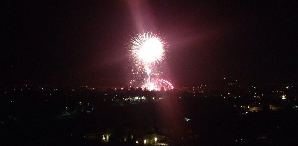 "PHOTO: A fireworks mishap in a town northwest of Los Angeles has left over two dozen people injured after an ""unintended"" detonation took place during the Fourth of July fireworks display, police said."