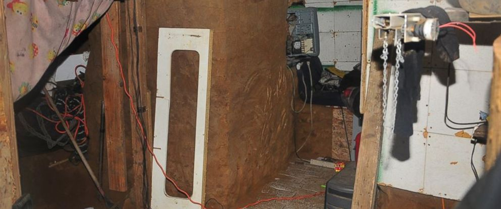 "PHOTO: Fresno Police uncovered a houses hidden ""cave"" with illegal gambling machines"