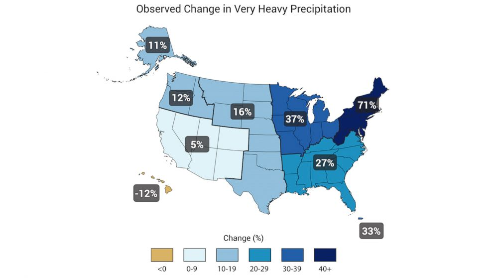 Heavy Downpours Increasing Due to Global Warming, Scientists ...