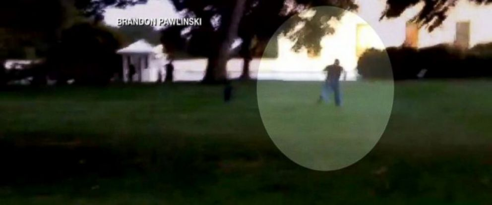 PHOTO: Omar Gonzalez is seen running towards the White House in this handout footage.