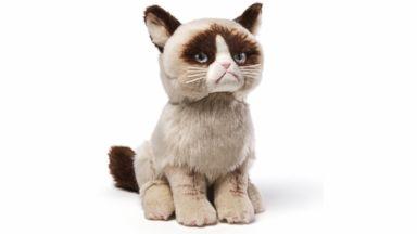 PHOTO: The Grumpy Cat plush toy, from Gund.