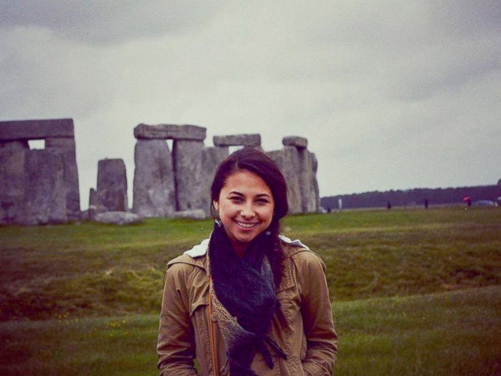 PHOTO: Haruka Weiser, seen here in this undated photo posted to her Facebook on July 9, 2013, was identified as the victim of a homicide after her body was found in a creek on the University of Texas Austin campus, April 7, 2016.