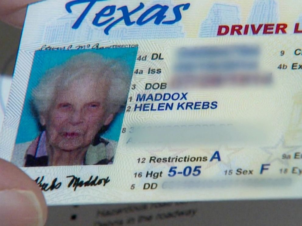 meet the 102-year-old texas driver who just renewed her license