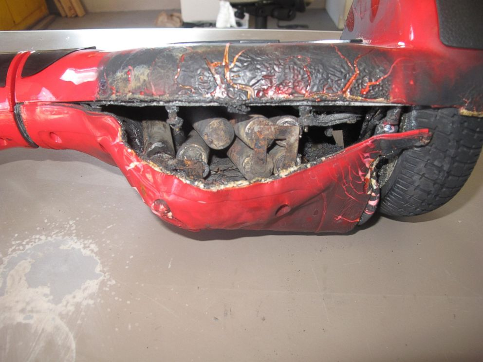 PHOTO: The FITURBO F1 hoverboard was charging when it sparked a minor fire, according to the Nashville Fire Department.