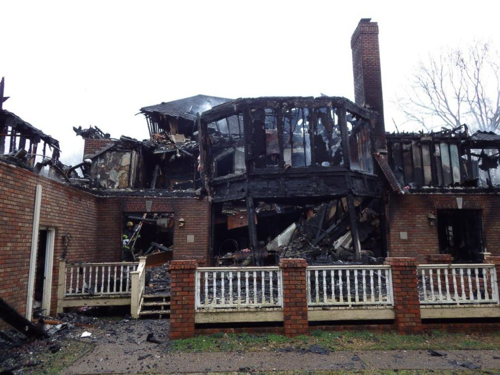PHOTO: The fire sparked by the hoverboard spread so fast that a 16-year-old girl had to jump from a second story window and into her fathers arms, according to the Nashville Police Department. <p itemprop=