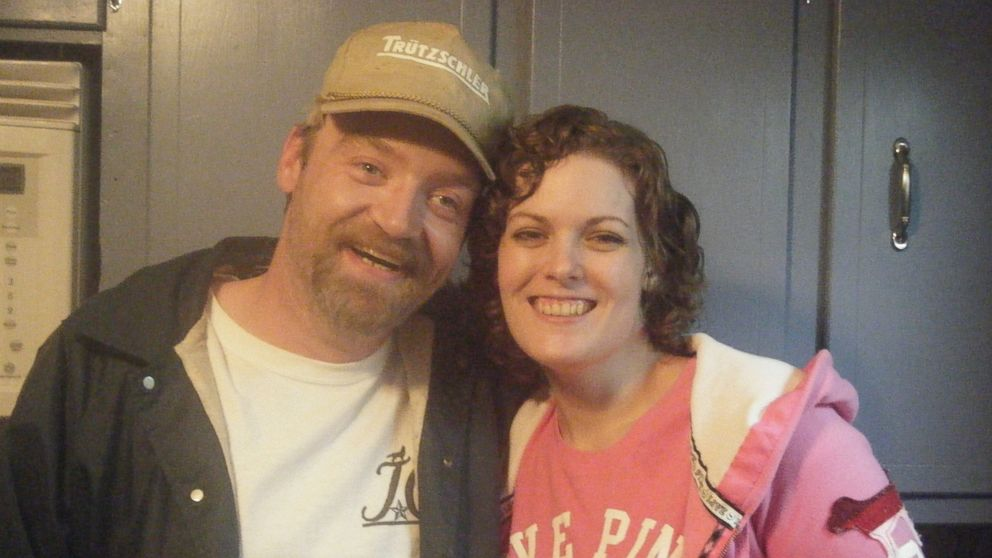 Jenelle Potter, left, and Jamie Curd, right, started dating after Tracy Greenwell set them up.
