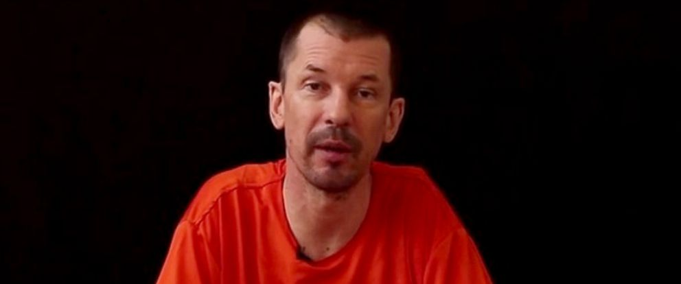 PHOTO: A video purportedly uploaded by an ISIS-linked account shows John Cantlie, a British citizen believed to be held by the group.