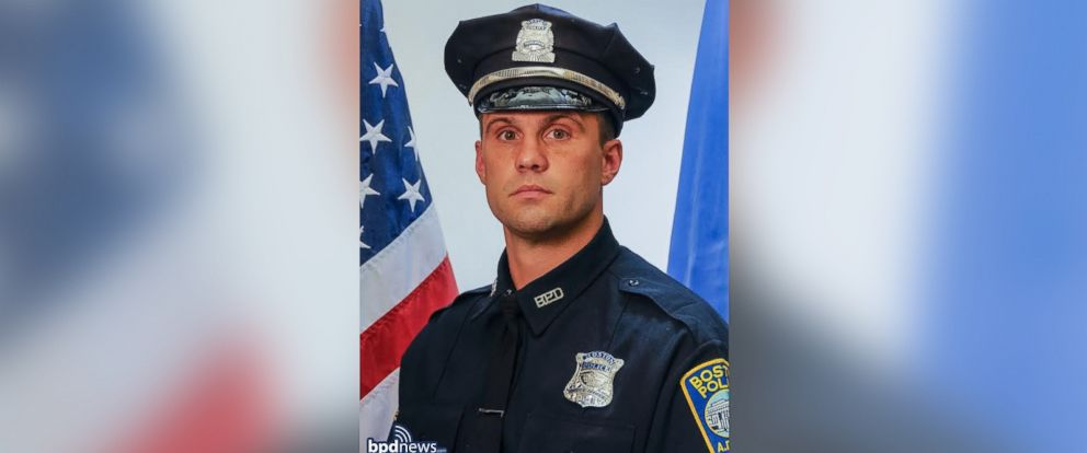 PHOTO: Officer John Moynihan, 34, was shot Friday night at a motor vehicle stop. He is a six-year veteran of the Boston Police Department.