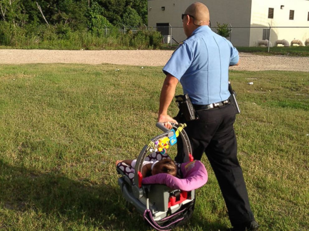 PHOTO A Houston Area Jogger Found 8 Month Old Genesis Haley Safe And